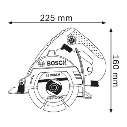 BOSCH GDM121 PROFESSIONAL MARBLE SAW 1250W
