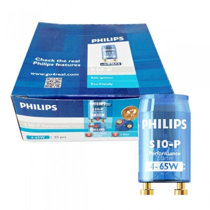 PHILIPS PERFORMANCE S10-P 4-65W SER 220-240V LIGHT TL-D STARTER - BLUE