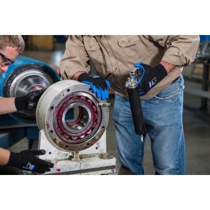 [12 PAIRS] KIMBERLY-CLARK™ PROFESSIONAL KLEENGUARD™ G40 BLUE FOAM NITRILE-COATED GLOVES