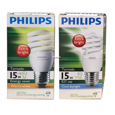 PHILIPS TORNADO 15W CDL E27 220-240V DAYLIGHT