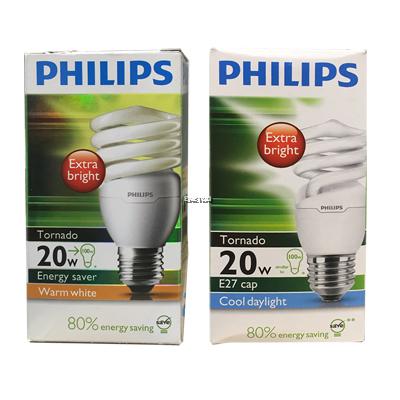 PHILIPS TORNADO 20W CDL E27 220-240V DAYLIGHT
