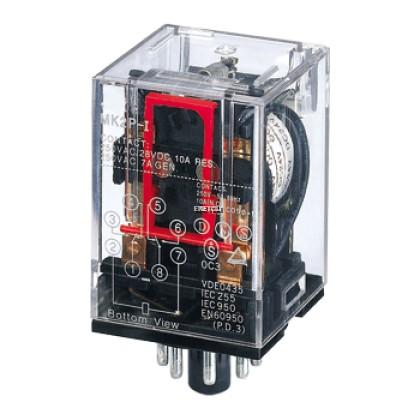 YOSHINE MK2P-N 10A/250VAC GENERAL-PURPOSE RELAY 8P DPDT C/W LED INDICATOR