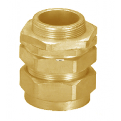 CALTER CABLE GLAND (BRASS) L TYPE ENTRY THREADS 20MM - 75MM