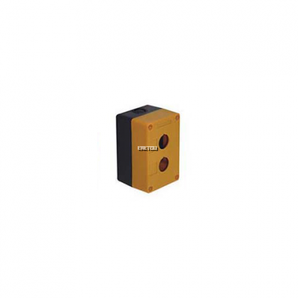 XGH B2-J TYPE CONTROL BUTTON BOX ( YELLOW & BLACK)