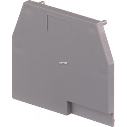 ENTRELEC TERMINAL BLOCKS ACCESSORIES (END SECTIONS) GREY