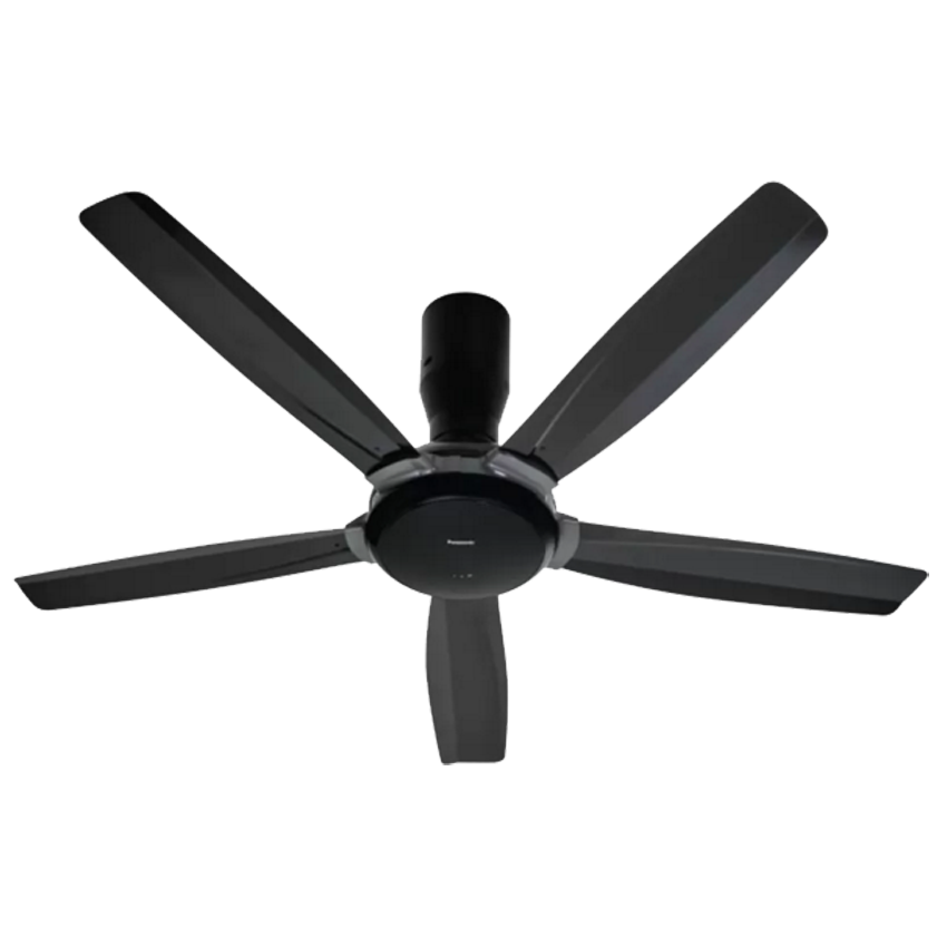 Panasonic 56 Bayu 5 Blades Ceiling Fan F M14d5 Dg Dark Grey